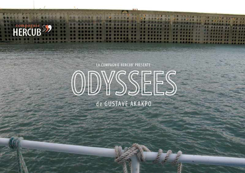 Visuel pour Odyssées de Gustav Akakpo
