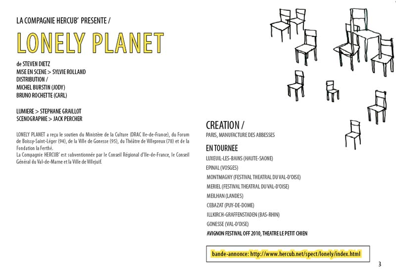 Dossier spectacle Lonely Planet